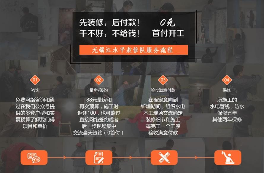 无锡江水平装修队量房收费标准+签约结账流程详细